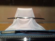 A katana sword from the mid-14th century